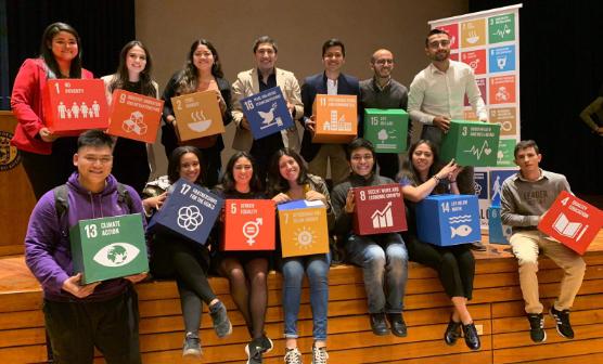 Líderes jóvenes de América Latina charlan sobre los Objetivos de Desarrollo Sostenible en Bogotá